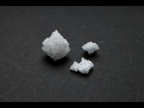 Как вырастить кристаллы из морской соли