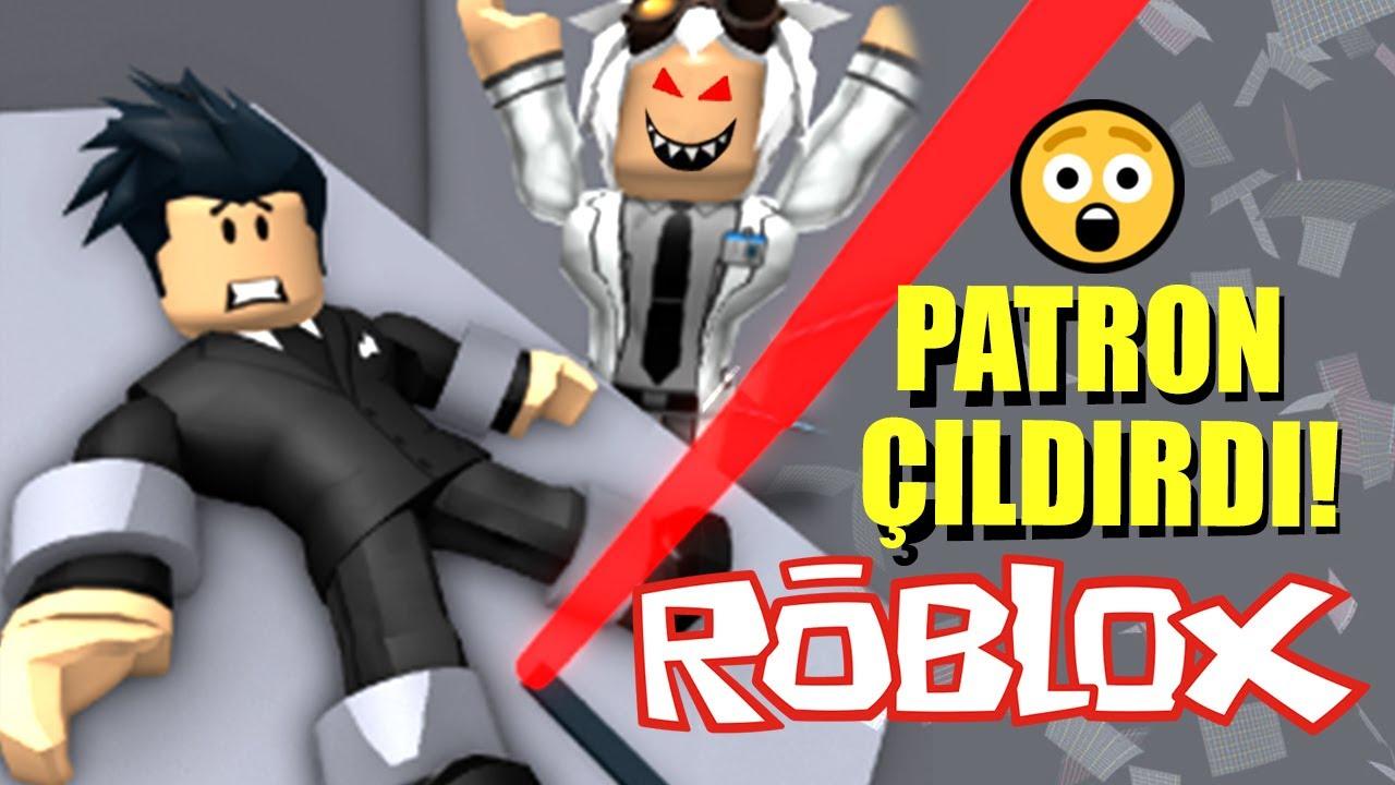 KORKUNÇ PATRONUN OFİSİNDEN KAÇTIM!! 👨💻 Roblox Escape The Office Obby!