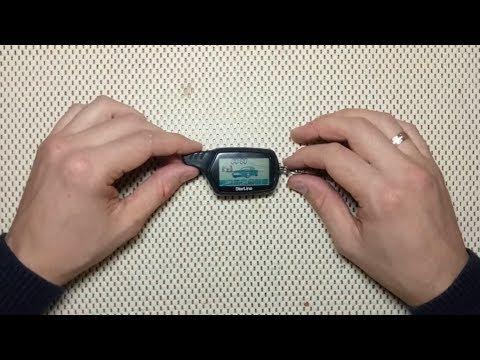 StarLine A91 замена LCD (шлейф)