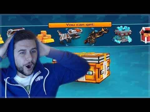 OMG! MEGA CHEST OPENING SUPER LOTTERY CHESTS! DID WE GET LUCKY Pixel Gun 3D