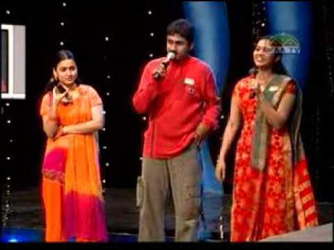 Saketh & Ishu maa Tv Singing songs