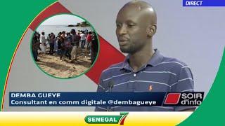 Drame de l'île des Madeleines: Demba Gueye, celui qui avait lancé l'alerte s'explique...