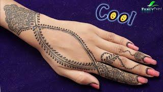 Latest Mehndi Design | Cool Mehndi Idea | New Stylish Mehndi | Unique Mehndi