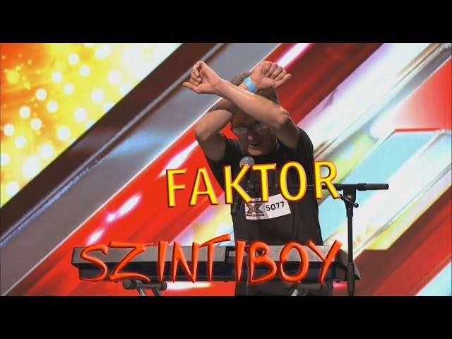 X-FAKTOR (Szintiboy) PARÓDIA [YTP] | #2