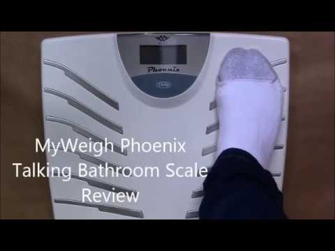 MyWeigh Phoenix Talking Bathroom Scale Review