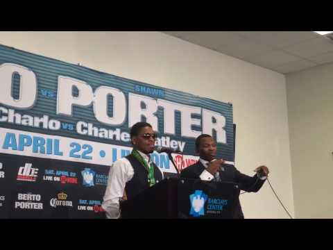 Shawn Porter After His Win Over Andre Berto - esnews boxing