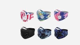 Велосипедная маска для лица фильтры ветрозащитные маски с активированным углем анти спиттл