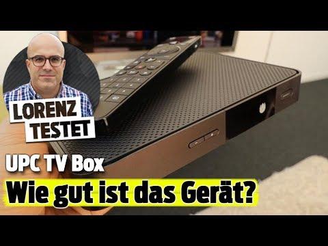 Das kann die neue UPC TV Box I Lorenz testet