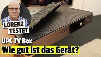 Das kann die neue UPC TV Box (Lorenz testet)