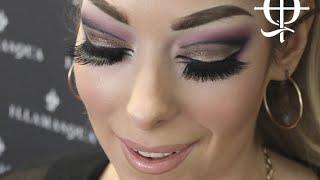 How to Cut Crease Make Up Tutorial with Illamasqua's Rose Ping Thumbnail