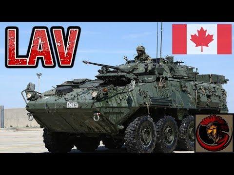 Canadian Light Armoured Vehicle (LAV) Series - LAV III
