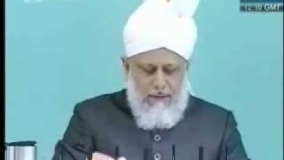 Проповедь Хазрата Мирзы Масрура Ахмада, (21-05-10) часть 1