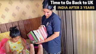 Delivery arrived for England- Time to go back now 😢 (Ep- 29) | Trip to India
