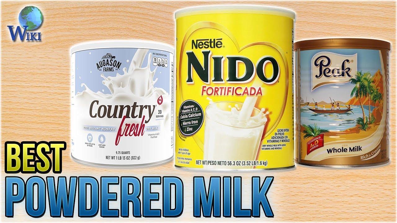 8 Best Powdered Milk 2018