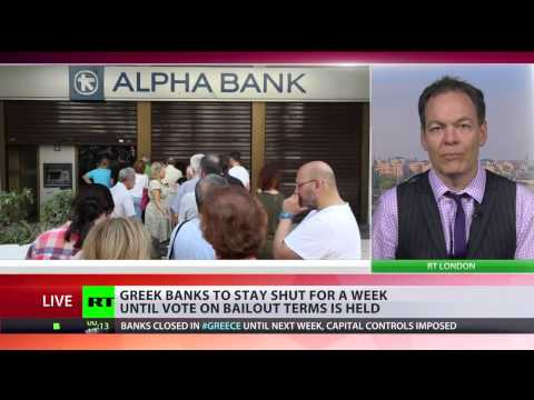 'Grexit fuse to total destruction of the Euro'-Max Keiser