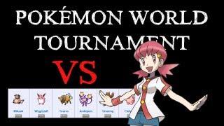 VS Blanca - Pokémon World Tournament