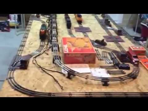 eBay AUCTION LIONEL WORKING O27 4 X 8 TWO TRACK LAYOUT able to – Lionel Uncoupler Wiring Diagrams