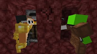 Minecraft Speed Runner Vs Nether Hunter