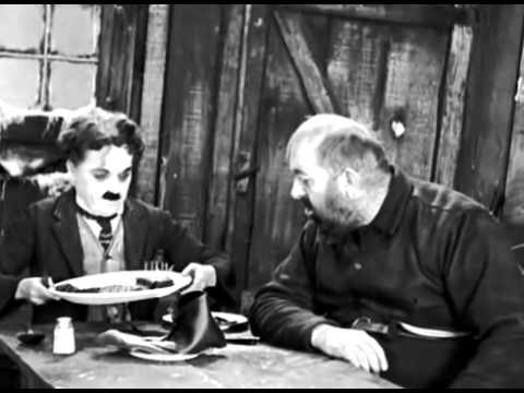 """Чарли Чаплин """"Золотая лихорадка """""""