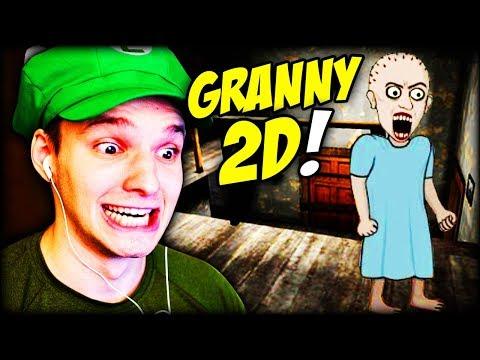 GRANNY GIBT ES IN 2D ?? ... UNGLAUBLICHES SPIEL !! | Insanus 2D