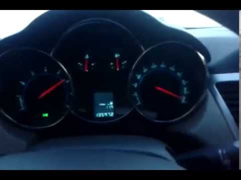 Chevrolet Cruze 220 km/h 5800 + 230 km/h 7000 Волгоград-Москва