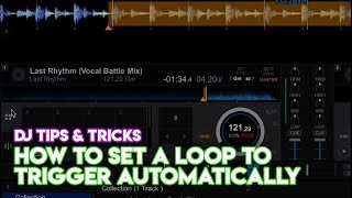 Rekordbox Tips And Tricks How To Set A Loop To Trigger Automatically