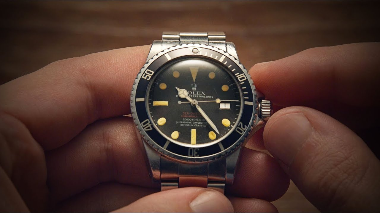 Why is the Rolex Double Red So Valuable  - Sea-Dweller 1665 ... d90f7ed2df9