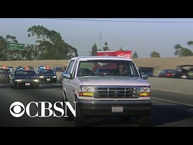 Photographer who followed O.J. Simpsons white Bronco recounts chase 25 years later