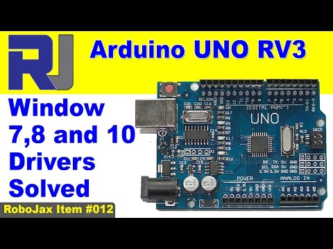Arduino UNO And Mega Windows 7, 8, 10  USB Driver Solved