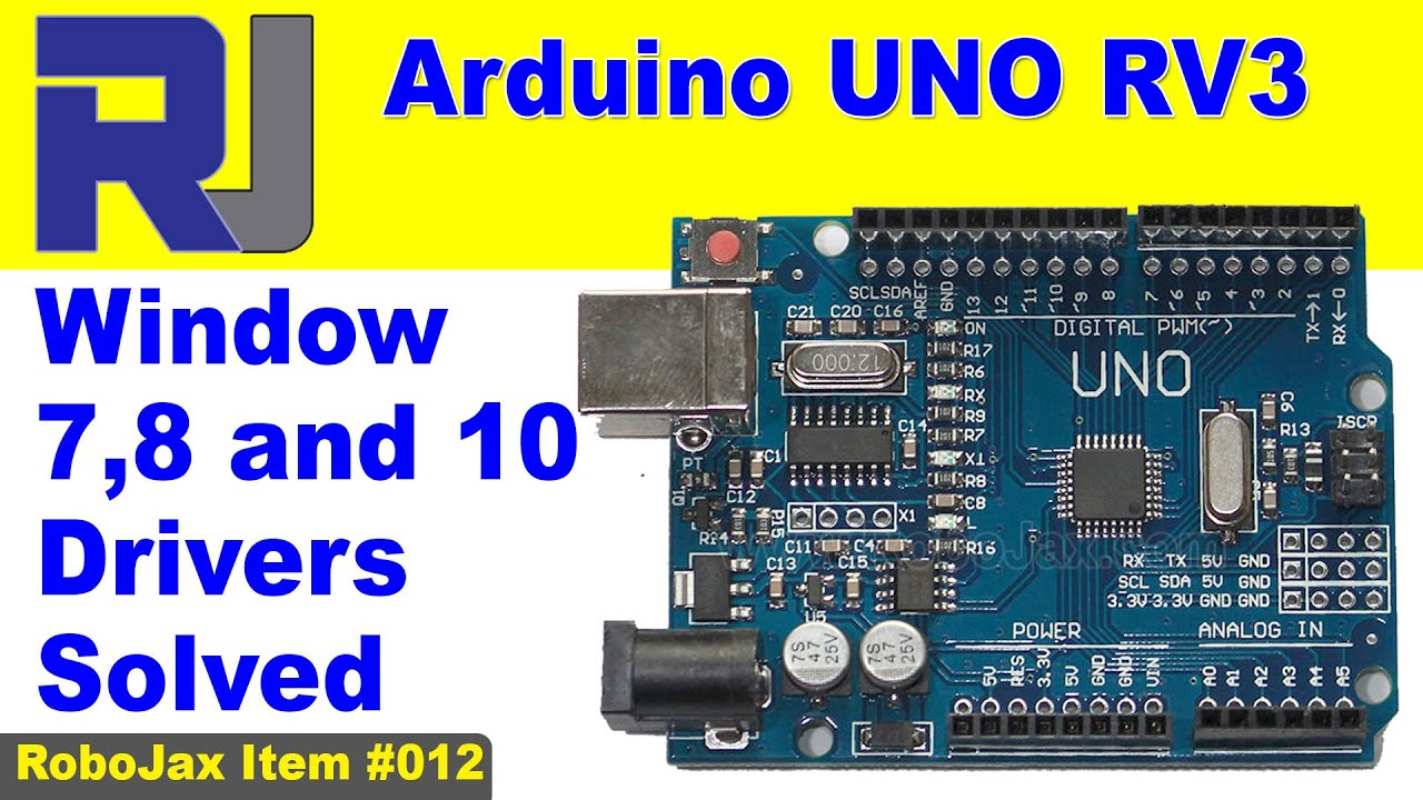 Arduino uno and mega windows usb driver solved