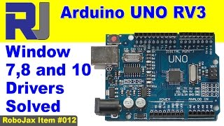 Arduino UNO Windows 7, 8, 10  USB driver Solved