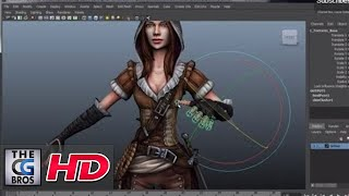 "CGI 3D Game Tutorial : ""Importing/Hooking Up Animation in UDK"" - by 3dmotive"