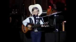 "6 Year Old Mason Ramsey (Little Hank)  singing ""Your Cheatin Heart by Hank Williams"