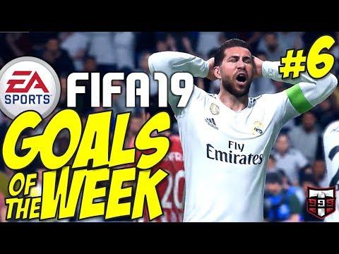 FIFA 19 - Top 10 Goals of the Week #6