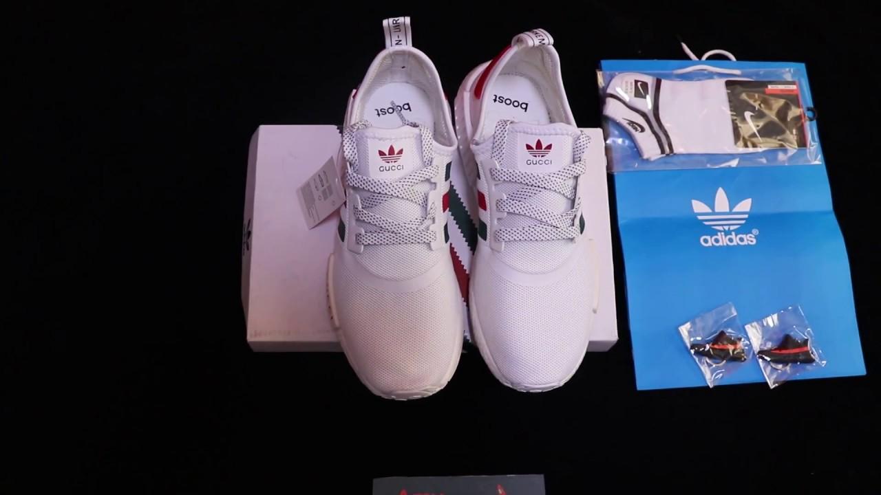 the latest 21807 102da ZAPATILLAS O TENIS DE CHINA adidas gucci nmd boost Blanco