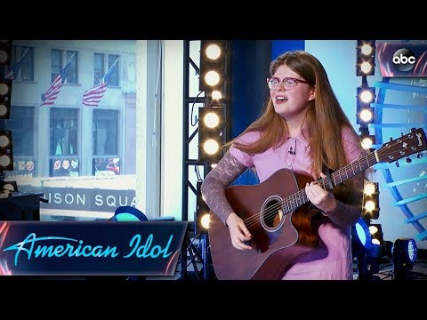 Catie Turner Auditions for American Idol With Quirky Original   American Idol 2018 on ABC