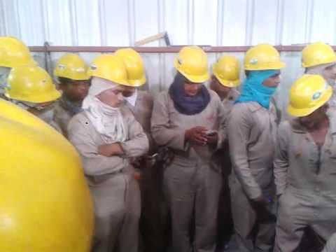 Kuwait NSH company me viswakarma pooja 2016