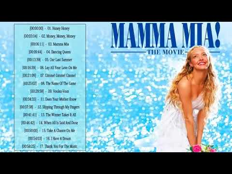Mamma Mia Soundtrack ♡♡ Mamma Mia Soundtrack Playlist ♡♡ Mamma Mia Album Soundtrack Playlist 2020