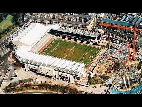 St James' Park Evolution - Newcastle United FC
