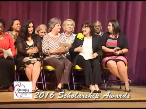 St  Lucie County Education Foundation Scholarship Awards 2016