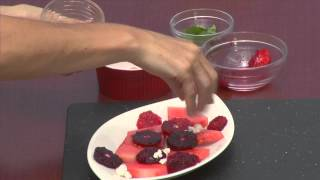 Bringing It Home - Chef Tim Kilcoyne - Watermelon, Blood Orange And Feta Salad