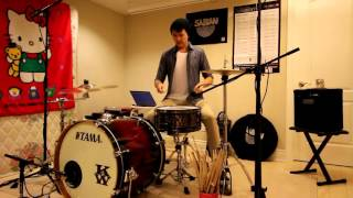 Adele - Hello - Drum Cover by Kenneth Wong FEAT. LEROY SANCHEZ