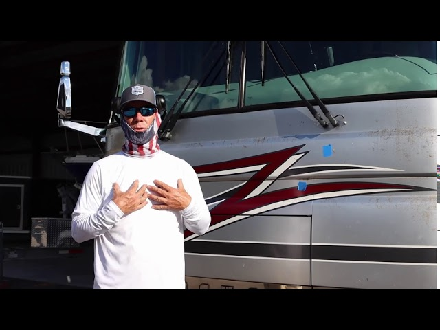 RV Exterior Paint Flaw Tips