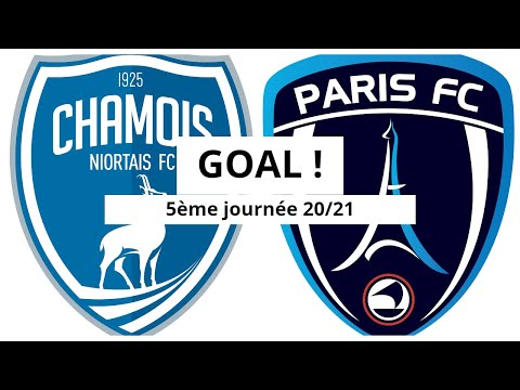 Niort Paris FC Goals And Highlights