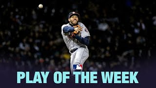 Carlos Correa's great play is the Play of the Week for 4/8