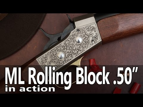 Check Out the Very Cool Pedersoli Muzzleloading Rolling