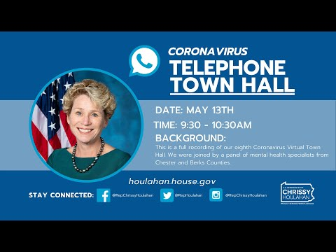 Coronavirus Telephone Town Hall 05.13.2020