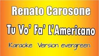 Renato Carosone - Tu Vuò Fà l'Americano (Versione Karaoke Academy Italia)