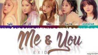 Baixar EXID (이엑스아이디) - 'ME & YOU' (미앤유) Lyrics [Color Coded_Han_Rom_Eng]