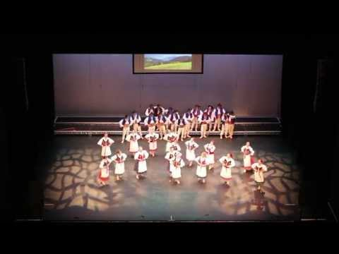 Mlody Las performance - Zywiec - 9th Polish Folklore Festival Manchester 2015